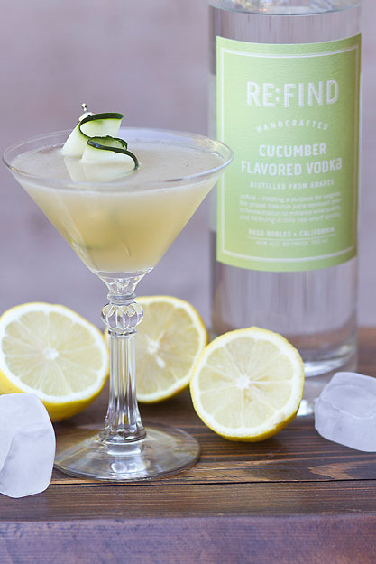 Re find cucumber flavored vodka cocktail recipes for White linen cocktail recipe